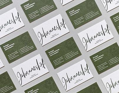 Weingut Johanneshof | Branding