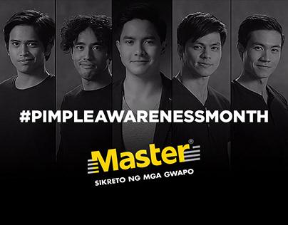 Master #PimpleAwarenessMonth