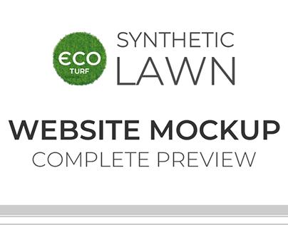 Mockup Web Eco Turf