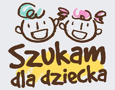 Logo and Facebook Fanpage layout | Szukam dla dziecka