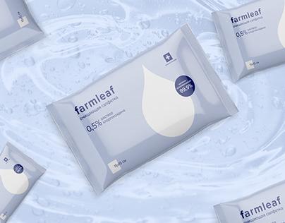 Farmleaf – packaging of wet wipes