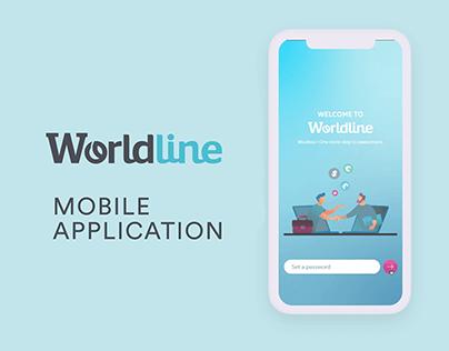 UI UX for WorldLine