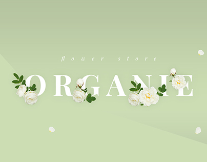O R G A N I E - Flower Shop WooCommerce Theme