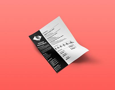 Currículo - Design Flat