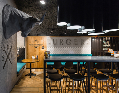 "BAR Restaurant ""SB BURGERS"" Saint-Petersburg"