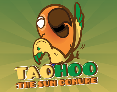 #Linecreatorsticker : Taohoo the Sun Conure