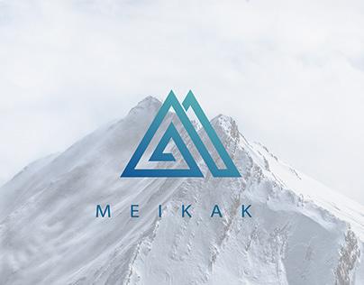 鋩角 Meikak / logodesign