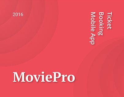 MoviePro Ticket Booking App