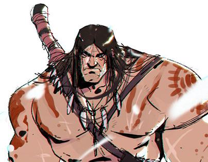Conan the Barbarian (fanart)