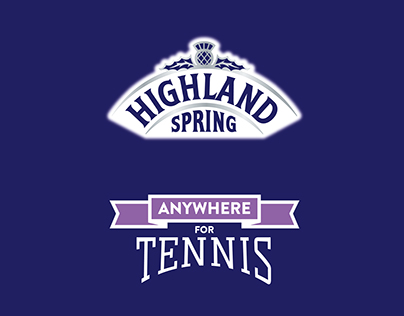 Highland Spring #AnywhereForTennis