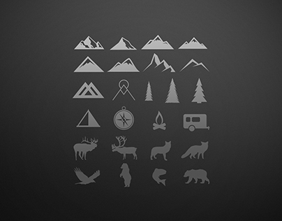 Camping Graphic Icons
