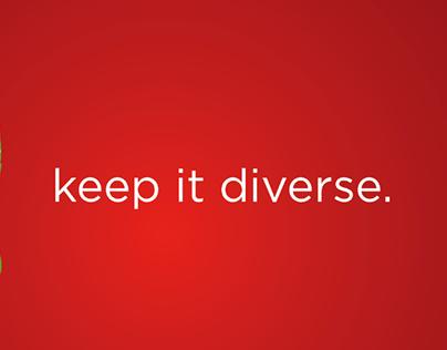 WWF: Keep It Diverse