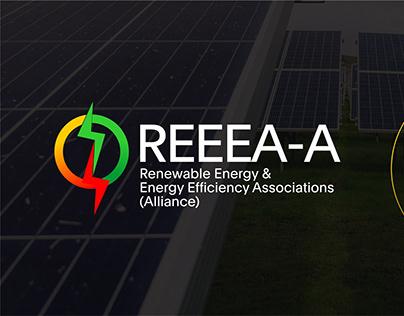 REEEA-A Logo & Brand Identity