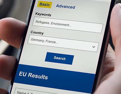 EU Results website design - European Commission