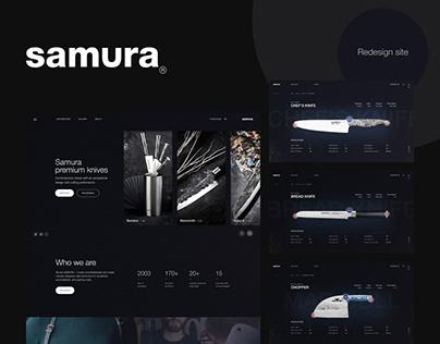SAMURA PREMIUM KNIVES REDESIGN SITE