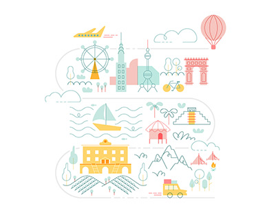 All Airbnb Illustrations