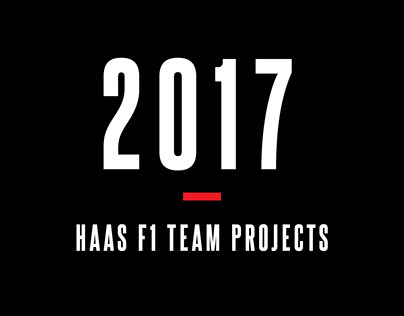 2017 Haas F1 Team Projects