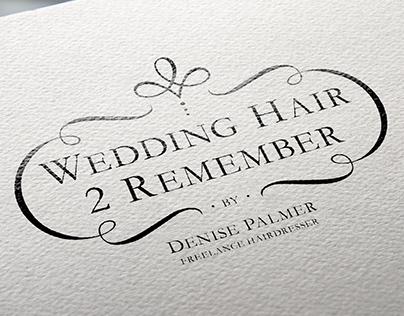 Wedding Hair 2 Remember Logo
