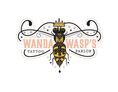 Wanda Wasp's Tattoo Parlor Branding