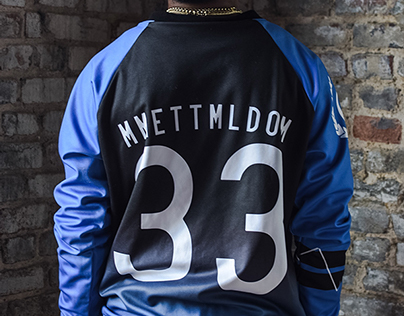 MME x Civil Ape Blue Fader Jacket