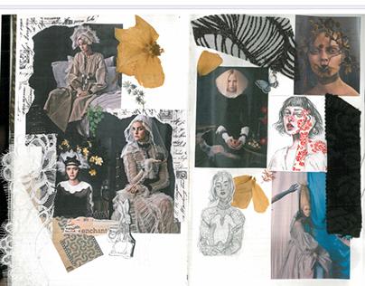 Design portfolio / inspiration Diary : FIDM , la