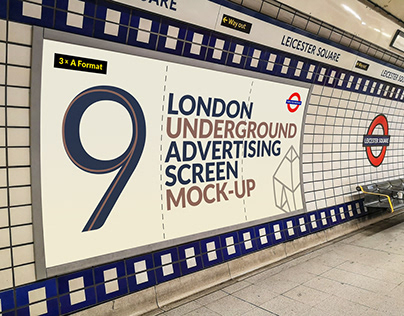 London Underground Ad Screen Mock-Ups 17
