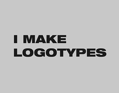 I make logotypes