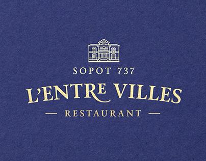 L'Entre Villes / branding