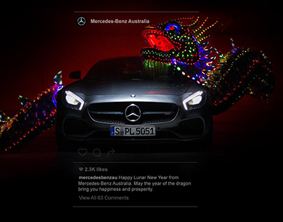 Mercedes-Benz Australia Digital Content