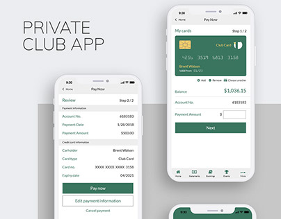 Private Club App