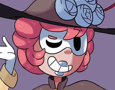 Agatha, the Magician thief of the carnival