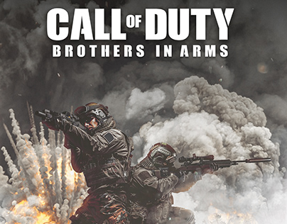 Call Of Duty - non official cover design