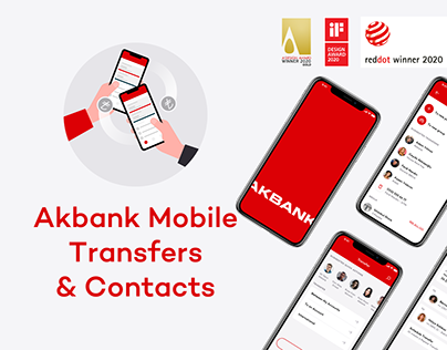Akbank Mobile Transfers & Contacts