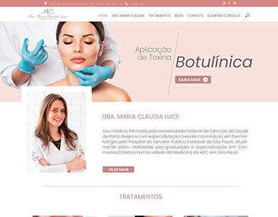Home Dra. Maria Claudia Luce