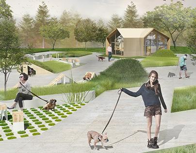 Dog park // Moscow Yauza Riverside