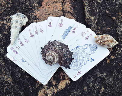 Lendas do Mar - Playing Cards