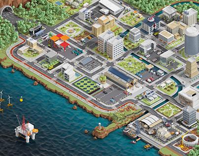 CGI City Repsol