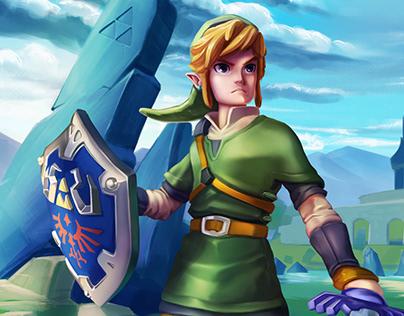 Zelda Link Fan Art