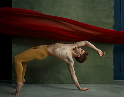 Personal project with ballet dancer Alexey Balitskiy