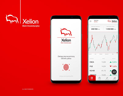 Xelion app design concept
