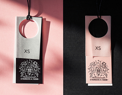 Strangers & Taboo - packaging design and identity