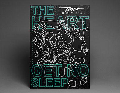Tokio Hotel, 'The Heart Get No Sleep' – Fan Poster