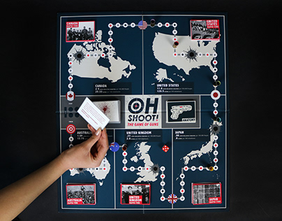 Oh Shoot! Board Game