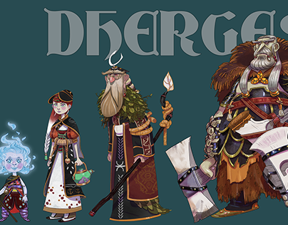Dherges (characters)