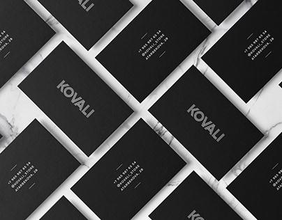 KOVALI   Fashion store branding identity