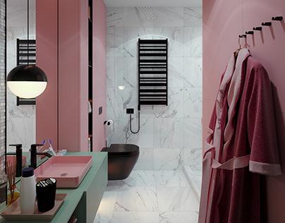 colorful bath | free scene