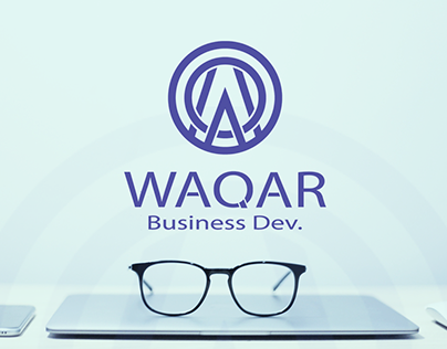 proposed logo for waqar