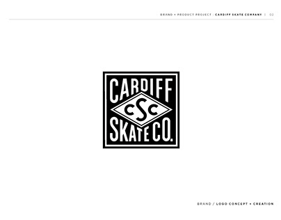 Cardiff Skate Company / Branding and Product Design