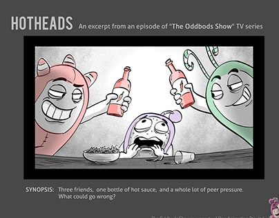 TV Series - The Oddbods Show: Hotheads (2015)