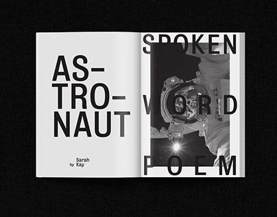 Astronaut by Sarah Kay